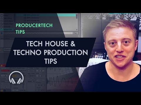 Tech House and Techno Production Tutorials - Online Course by Paul Maddox (Spektre)