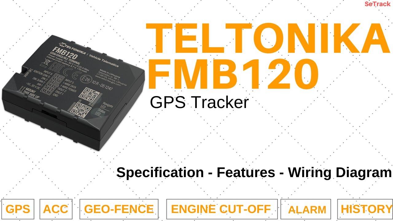 Teltonika Fmb120 Gps Tracker