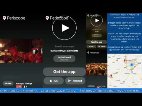 Turkey News - Live streams from Turkey