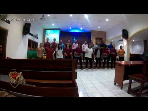 Penampilan Pujian PS. Phileo Yogyakarta Di GKJ Jati Mulyo
