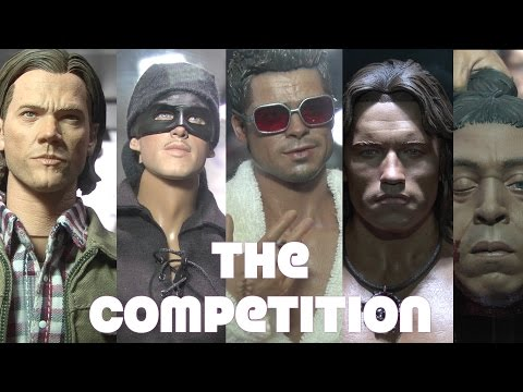 SDCC viewing the competition against Hot Toys 7/23/16 Chronicle, Storm, Blitzway & QMX
