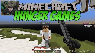 Minecraft: Hunger Games (Emerald Isle) | KID GAMING