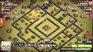 Clash of Clans-Como dar pt num CV 9 gowiva