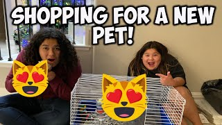 MARY and IZZY GOT A NEW PET! What did they get ???