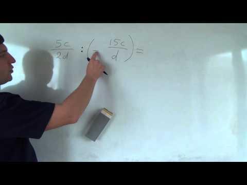 Алгебра 8 класс. 4 октября. Умножение и деление алгебраических дробей #1