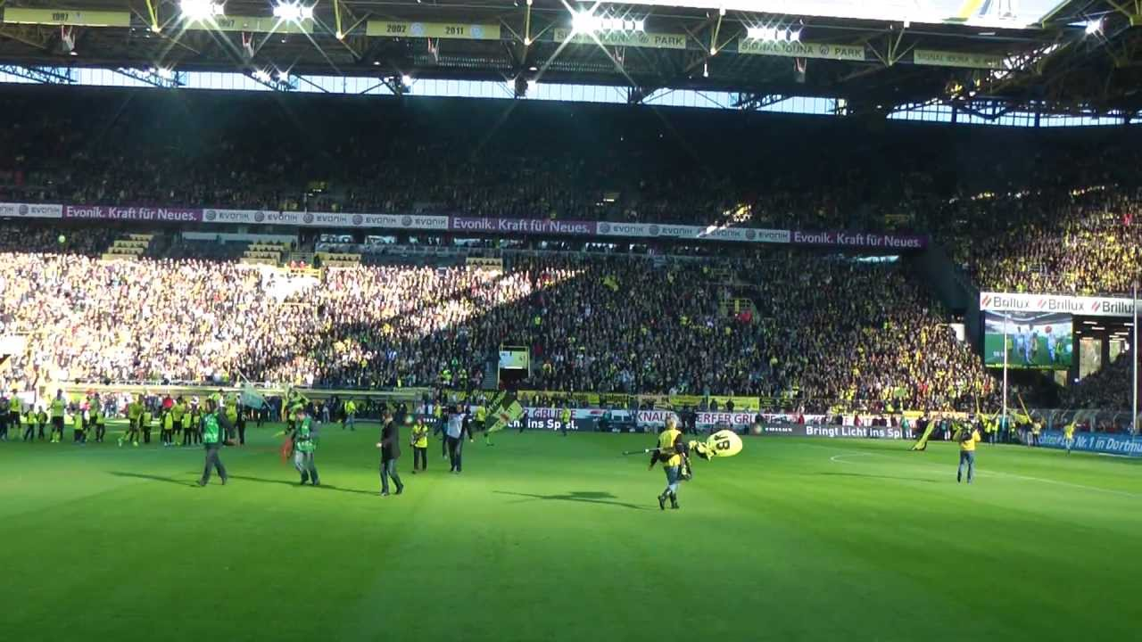 BVB - Köln 5-0 Stimmung Fans Borussia Dortmund  1. FC Köln Westfalenstadion