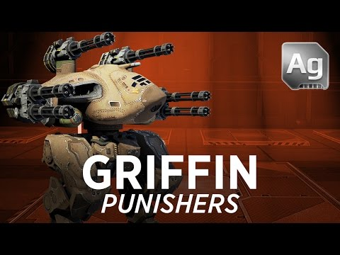 Griffin Punishers - War Robots - Gameplay (Yamantau)