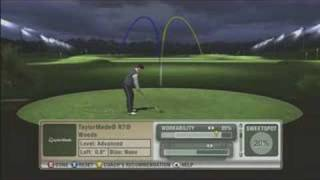 Tiger Woods PGA TOUR 09 - Club Tuner Feature