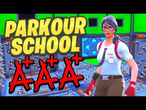 I went to PARKOUR SCHOOL in Fortnite! thumbnail