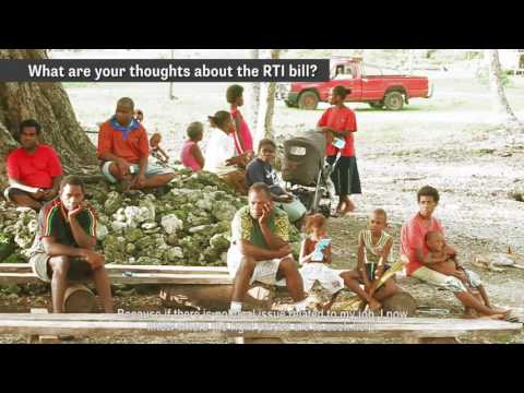 Transparency International Vanuatu (TIV) Malekula RTI Awareness