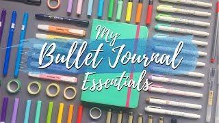 My Bullet Journal Essentials | Bullet Journal Stationery