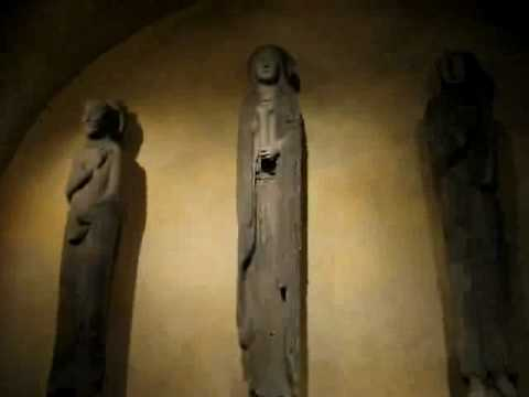 Visite de la Crypte de la Cathédrale de Chartres (1ère partie)