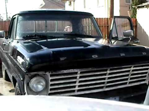 1968 Ford F100 For Sale Youtube