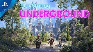 The Elder Scrolls Online: Summerset - PS4 Gameplay   PlayStation Underground