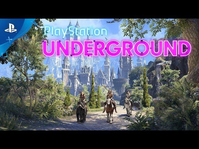The Elder Scrolls Online: Summerset - PS4 Gameplay | PlayStation Underground