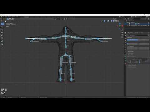 Class16 BVH Remapping Blender 2 8   Foci