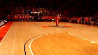 The Next Dance by Chief Illiniwek at Assembly Hall (Full Dance)