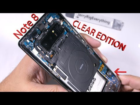 Note 8 CLEAR EDITION! - Totally Transparent Samsung Note 8