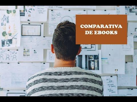 Comparativa Ebooks o ereader 2017 - Que ebook comprar?
