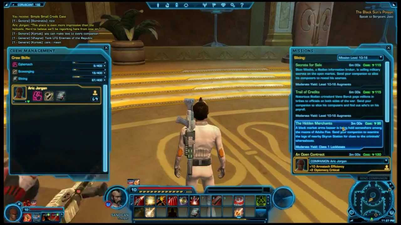sandican s credit guide for star wars the old republic make easy rh youtube com star wars the old republic manual pdf star wars the old republic guide pdf