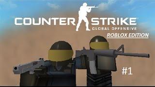 Zagrajmy w CS:GO w Roblox #1