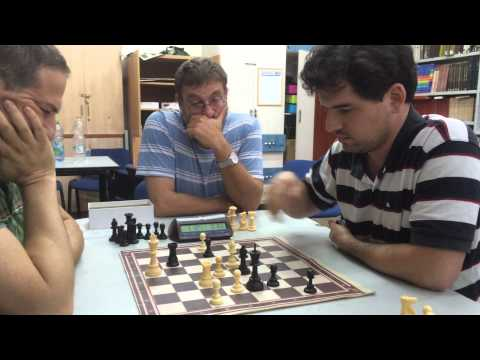 Partie blitz à Jérusalem - Chess & Strategy by Philippe Dornbusch