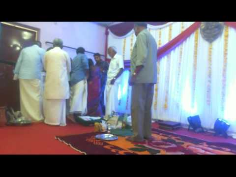 Nivedya's and Sajeev's engagement!