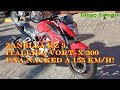 Review honesto Zanella Rz 3 mas rodada y entrevista itallika vort-x 300 Loncin cr 6