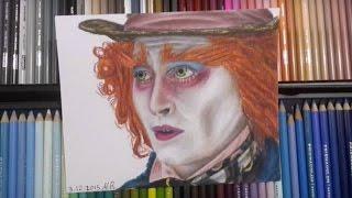 Drawing mad hatter | Alice in Wonderland