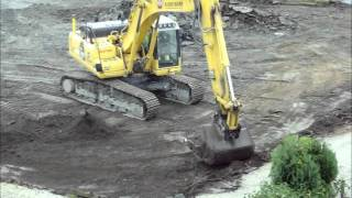 Diggers digging - made this video for my kids