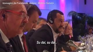 Salvini, lite col ministro del Lussemburgo che sbotta offendendo