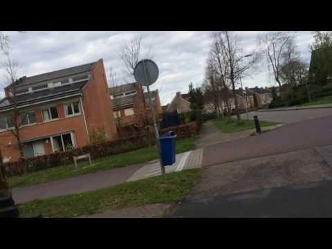 Haarweg to Wageningen University Campus - Bike Track