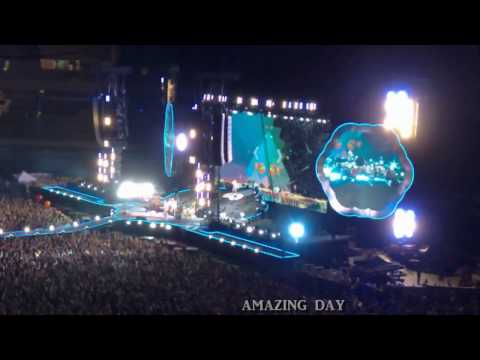 COLDPLAY - A Head Full Of Dreams World Tour - Melbourne Australia - December 2016