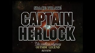 Space Pirate Captian Harlock The Endless Odyssey Outside Legend -Anime Review #11