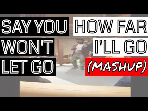 Say You Won't Let Go/How Far I'll Go - James Arthur/Moana  (Mashup)