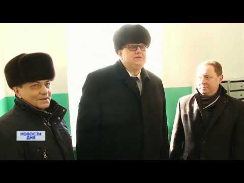 «ОРТ», «Новости дня», Сюжет о вручении таблички «Дом образцового содержания» в городе Соль-Илецке