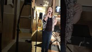 "Abby Mackanic singing ""Stay"" by Rihanna cover"