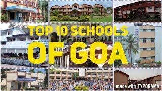 Top 10 Schools of Goa (2017) - Best Schools in Goa For Admission