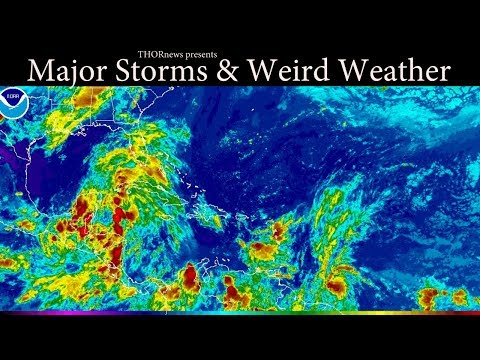 MAJOR Moisture Gulf Storm, Deadly HEAT & Major Storms for East Coast