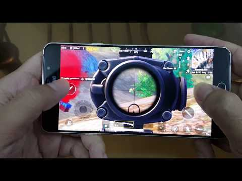 Test Game PUBG Mobile On Samsung Galaxy A5 2016