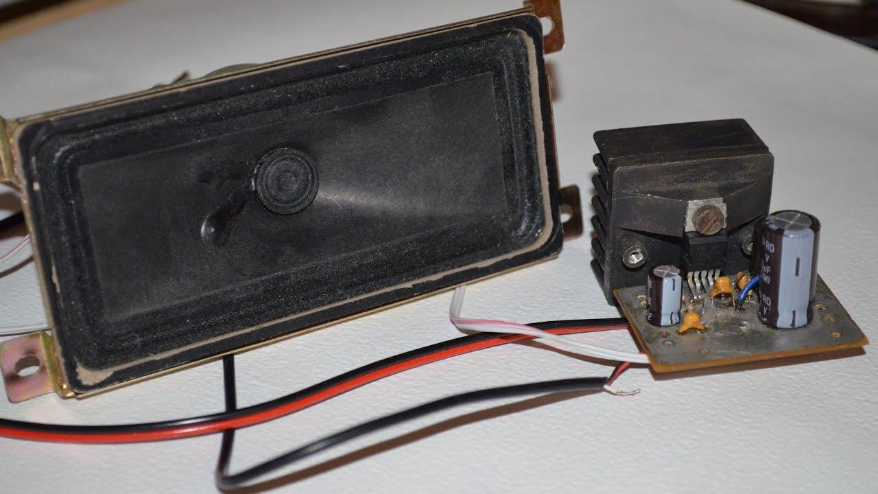 Amplifier Tda2003 Build And Demonstration Youtube Bridge 5w 8 Ohms Circuit Design