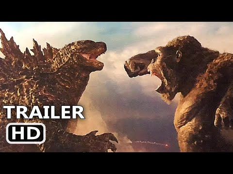 GODZILLA VS KONG Official Trailer 2021