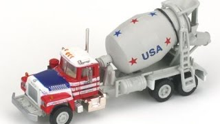 Kids Truck Video Cement Mixer Toy