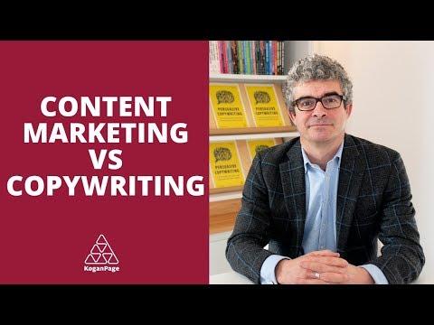Content Marketing vs  Copywriting | Andy Maslen
