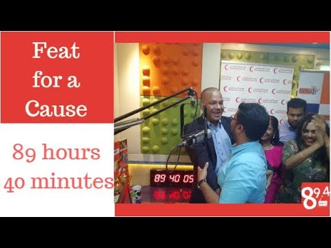 Tamil 89.4 FM RJ Nimmi's Non-Stop Live for Joyful Giving