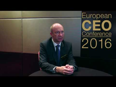 European CEO Confercence 2016 - Bernard Cathelain Interview