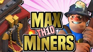 UPGRADING TH10 | MAX MINERS, QUEEN TO 39, BARCH FARMING | Clash of Clans