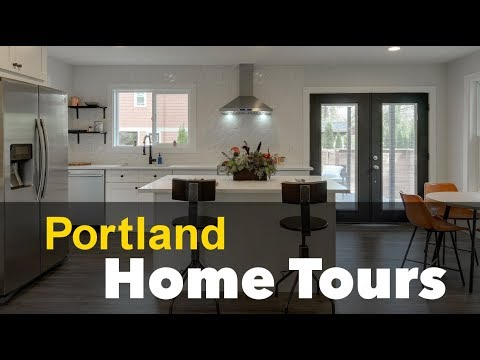 Portland Home Tour - 7077 NE 8th Ave Portland OR - Stylish Remodel