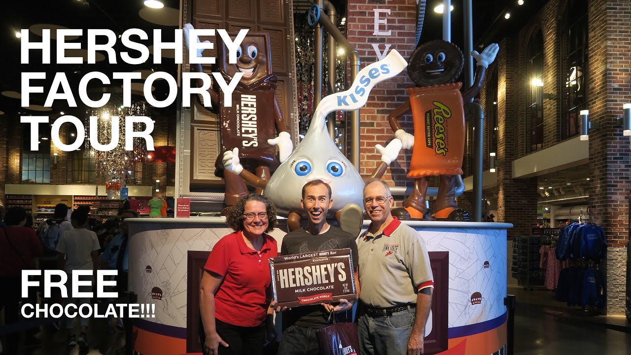 FREE Hershey Chocolate Factory Tour | Hershey, PA - YouTube