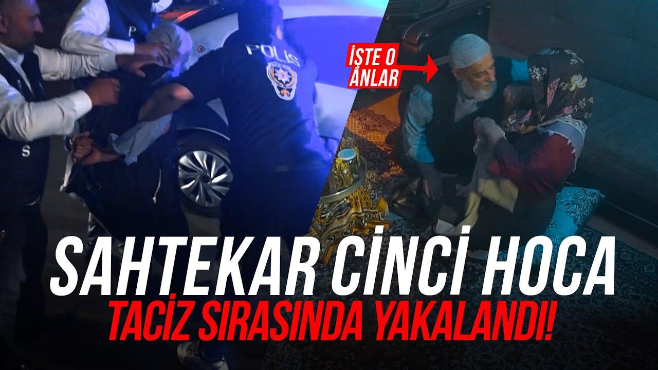 SAHTEKAR HOCAYA POLİS BASKINI (Taciz Görüntüleri) +18